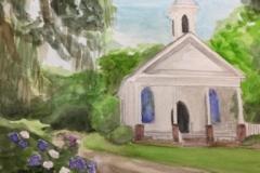 chapel-in-woods-forrest-art
